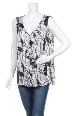 Γυναικείο αμάνικο μπλουζάκι Suzanne Grae, Μέγεθος XXL, Χρώμα Πολύχρωμο, Πολυεστέρας, Τιμή 5,20€