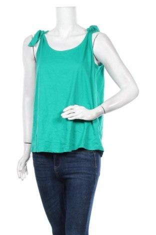 Γυναικείο αμάνικο μπλουζάκι Suzanne Grae, Μέγεθος M, Χρώμα Πράσινο, Βαμβάκι, Τιμή 4,22€