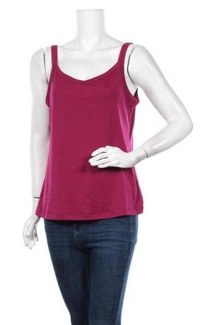 Γυναικείο αμάνικο μπλουζάκι Suzanne Grae, Μέγεθος XL, Χρώμα Βιολετί, Πολυεστέρας, βαμβάκι, Τιμή 4,68€