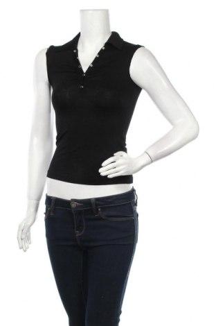 Γυναικείο αμάνικο μπλουζάκι Vert De Rage, Μέγεθος XS, Χρώμα Μαύρο, Τιμή 2,53€