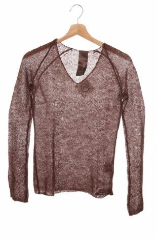 Дамски пуловер Gas, Размер XS, Цвят Кафяв, 30% мохер, 34% акрил, 36% полиамид, Цена 56,00лв.