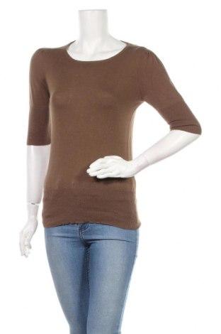 Дамски пуловер Gas, Размер M, Цвят Кафяв, 67% памук, 21% полиамид, 12% кашмир, Цена 45,00лв.