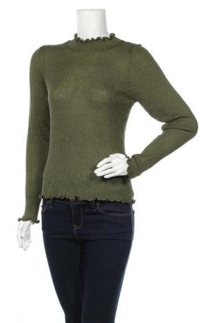 Дамски пуловер Michelle Keegan, Размер XL, Цвят Зелен, 50% вискоза, 50% акрил, Цена 28,32лв.
