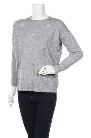 Дамски пуловер Quiz, Размер S, Цвят Сив, 50% вискоза, 28% полиестер, 22% полиамид, Цена 26,55лв.