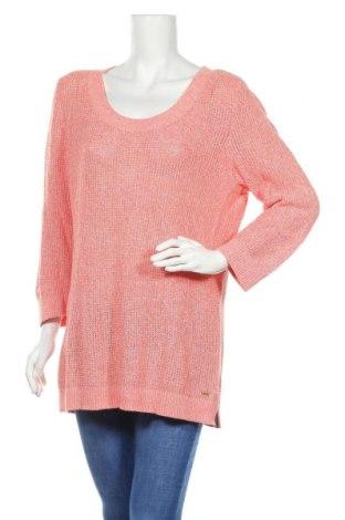 Damski sweter Tommy Hilfiger, Rozmiar XL, Kolor Różowy, Bawełna, Cena 65,19zł