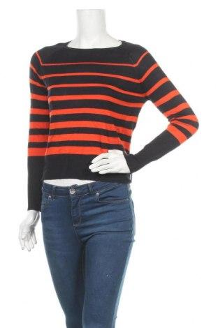 Дамски пуловер Zara, Размер S, Цвят Син, 50% вискоза, 50% акрил, Цена 14,62лв.