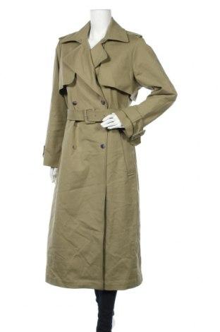 Γυναικεία καμπαρντίνα Ivy & Oak, Μέγεθος XL, Χρώμα Πράσινο, 96% βαμβάκι, 4% ελαστάνη, Τιμή 125,83€