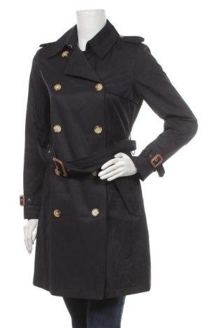 Дамски шлифер Ralph Lauren, Размер XS, Цвят Син, 57% памук, 43% полиестер, Цена 246,75лв.