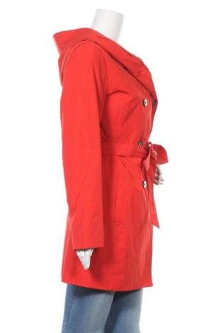 Дамски шлифер S.Oliver, Размер M, Цвят Червен, 82% полиестер, 18% памук, Цена 134,25лв.