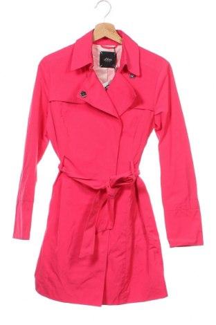 Дамски шлифер S.Oliver, Размер XS, Цвят Розов, 52% памук, 48% полиестер, Цена 171,75лв.