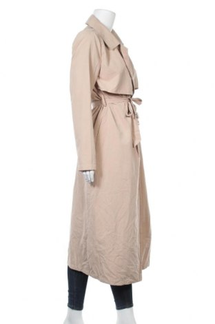 Дамски шлифер Vila, Размер S, Цвят Бежов, 95% полиестер, 5% полиамид, Цена 76,50лв.