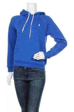 Дамски суичър Polo By Ralph Lauren, Размер S, Цвят Син, 70% памук, 30% полиестер, Цена 108,12лв.