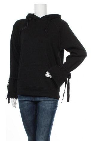 Дамски суичър Review, Размер S, Цвят Черен, 60% памук, 40% полиестер, Цена 42,34лв.