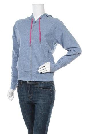 Γυναικείο φούτερ S.Oliver, Μέγεθος S, Χρώμα Μπλέ, 92% βαμβάκι, 8% ελαστάνη, Τιμή 22,40€