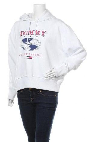 Дамски суичър Tommy Hilfiger, Размер L, Цвят Бял, 50% памук, 50% полиестер, Цена 94,52лв.