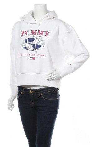 Дамски суичър Tommy Hilfiger, Размер XS, Цвят Бял, 50% памук, 50% полиестер, Цена 80,92лв.