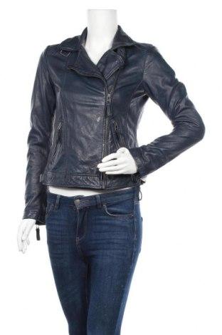 Γυναικείο δερμάτινο μπουφάν 7 Eleven, Μέγεθος S, Χρώμα Μπλέ, Γνήσιο δέρμα, Τιμή 81,96€