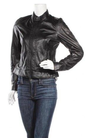 Γυναικείο δερμάτινο μπουφάν Freaky Nation, Μέγεθος M, Χρώμα Μαύρο, Γνήσιο δέρμα, Τιμή 136,35€