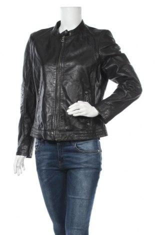 Γυναικείο δερμάτινο μπουφάν Gipsy, Μέγεθος XL, Χρώμα Μαύρο, Γνήσιο δέρμα, Τιμή 97,26€