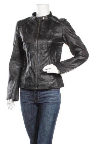 Γυναικείο δερμάτινο μπουφάν Lee Cooper, Μέγεθος L, Χρώμα Μαύρο, Γνήσιο δέρμα, Τιμή 73,49€