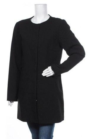 Palton de femei Jacqueline De Yong, Mărime L, Culoare Negru, 95% poliester, 5% elastan, Preț 85,00 Lei