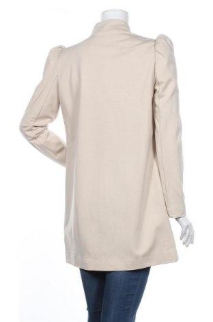 Дамско палто ONLY, Размер M, Цвят Бежов, 63% вискоза, 32% полиамид, 5% еластан, Цена 66,75лв.