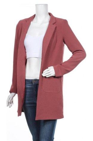 Дамско палто ONLY, Размер S, Цвят Розов, 97% полиестер, 3% еластан, Цена 72,27лв.