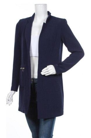 Дамско палто ONLY, Размер S, Цвят Син, 97% полиестер, 3% еластан, Цена 74,25лв.