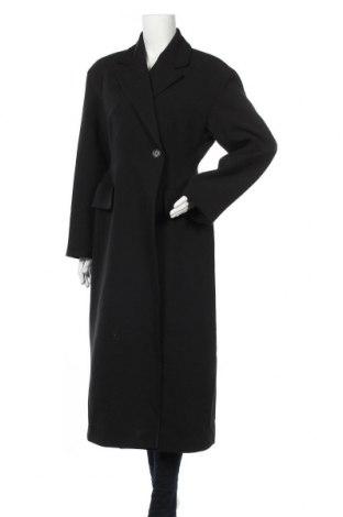 Γυναικείο παλτό Weekday, Μέγεθος M, Χρώμα Μαύρο, 63% πολυεστέρας, 33% βισκόζη, 4% ελαστάνη, Τιμή 39,01€