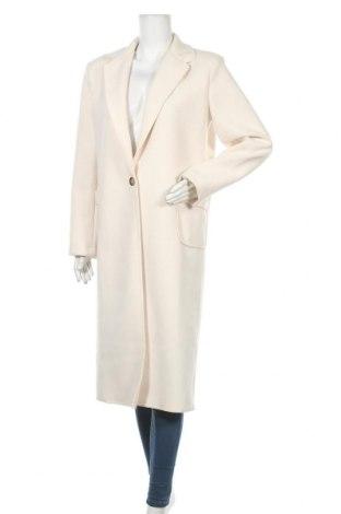 Γυναικείο παλτό, Μέγεθος L, Χρώμα  Μπέζ, 100% πολυεστέρας, Τιμή 27,69€