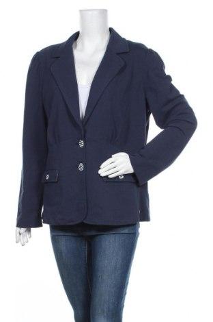 Γυναικείο σακάκι Another Woman, Μέγεθος XXL, Χρώμα Μπλέ, 95% βαμβάκι, 5% ελαστάνη, Τιμή 16,24€