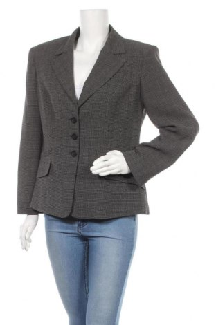 Γυναικείο σακάκι Cacharel, Μέγεθος XL, Χρώμα Μαύρο, 55% ασετάτ, 31% χαλκαμμωνία, 14% πολυεστέρας, Τιμή 42,68€