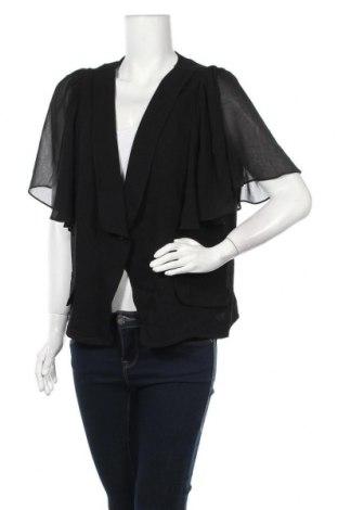 Γυναικείο σακάκι City Chic, Μέγεθος XL, Χρώμα Μαύρο, Πολυεστέρας, Τιμή 13,58€