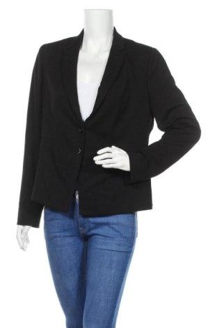 Γυναικείο σακάκι Comma,, Μέγεθος XL, Χρώμα Μαύρο, 83% βισκόζη, 14% πολυεστέρας, 3% ελαστάνη, Τιμή 23,27€