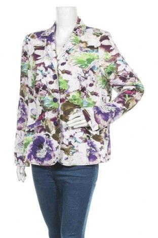 Γυναικείο σακάκι Gina Laura, Μέγεθος L, Χρώμα Πολύχρωμο, 55% λινό, 45% βισκόζη, Τιμή 15,20€