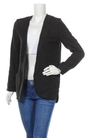 Γυναικείο σακάκι H&M, Μέγεθος M, Χρώμα Μαύρο, 67% μοντάλ, 33% πολυεστέρας, Τιμή 8,23€