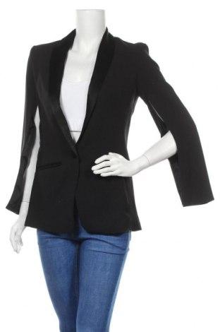 Γυναικείο σακάκι H&M Conscious Collection, Μέγεθος M, Χρώμα Μαύρο, Πολυεστέρας, Τιμή 21,34€