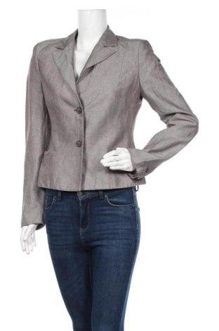 Γυναικείο σακάκι Mexx, Μέγεθος M, Χρώμα Γκρί, 59% λινό, 33% βισκόζη, 6% πολυεστέρας, Τιμή 9,35€
