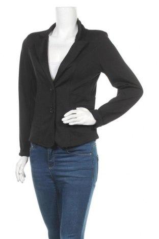 Дамско сако Multiblu, Размер M, Цвят Черен, 95% полиестер, 5% еластан, Цена 25,20лв.