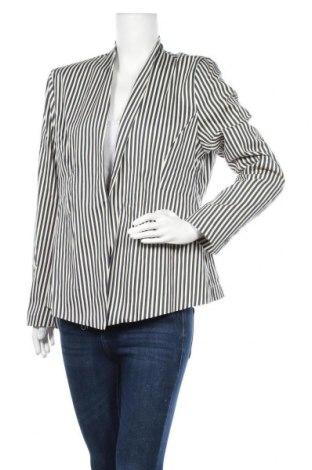 Γυναικείο σακάκι Myrine, Μέγεθος XXL, Χρώμα Μπλέ, 97% βαμβάκι, 3% ελαστάνη, Τιμή 31,20€
