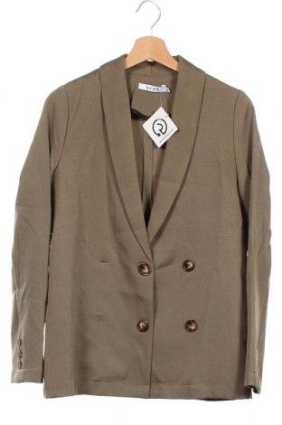 Γυναικείο σακάκι Na-Kd, Μέγεθος XS, Χρώμα Πράσινο, Τιμή 16,89€