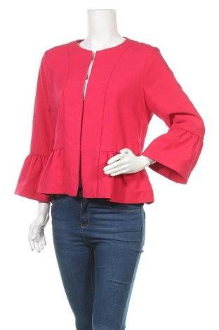Γυναικείο σακάκι S.Oliver, Μέγεθος L, Χρώμα Ρόζ , 64% πολυεστέρας, 31% βισκόζη, 5% ελαστάνη, Τιμή 24,54€