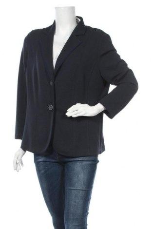 Дамско сако Sommermann, Размер XL, Цвят Син, 93% полиестер, 7% еластан, Цена 17,64лв.