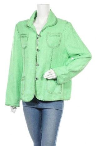Γυναικείο σακάκι TCM, Μέγεθος XL, Χρώμα Πράσινο, 51% βαμβάκι, 49% βισκόζη, Τιμή 14,55€