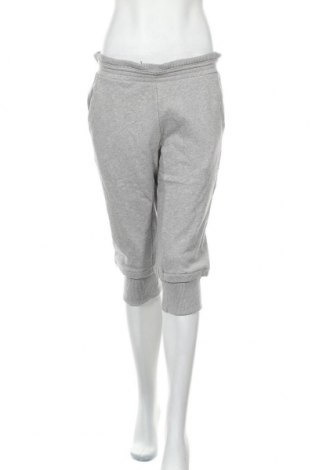 Дамско спортно долнище Adidas Slvr, Размер M, Цвят Сив, Памук, Цена 66,75лв.