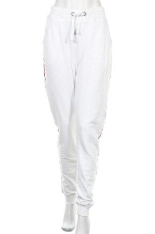 Дамско спортно долнище Alpha Industries, Размер XL, Цвят Бял, 80% памук, 20% полиестер, Цена 64,97лв.