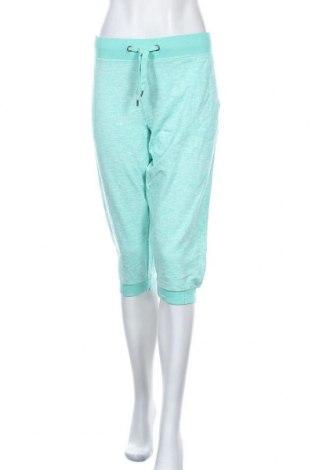 Дамско спортно долнище Crivit, Размер XL, Цвят Зелен, 65% полиестер, 35% памук, Цена 15,96лв.