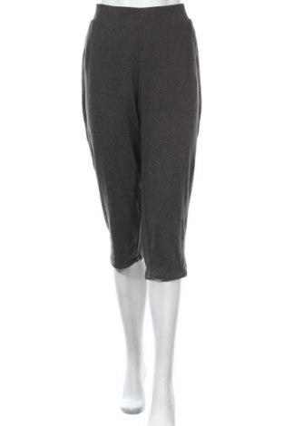 Γυναικείο αθλητικό παντελόνι Croft & Barrow, Μέγεθος XXL, Χρώμα Γκρί, 60% βαμβάκι, 40% πολυεστέρας, Τιμή 10,91€