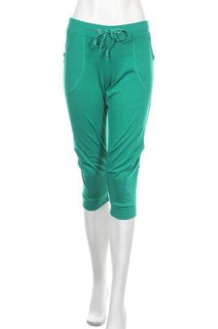 Γυναικείο αθλητικό παντελόνι Okay, Μέγεθος S, Χρώμα Πράσινο, 65% πολυεστέρας, 35% βαμβάκι, Τιμή 8,31€