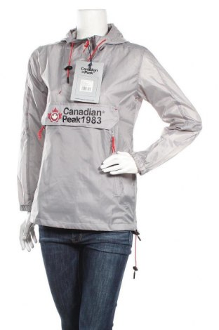 Γυναικείο μπουφάν αθλητικό Canadian Peak, Μέγεθος S, Χρώμα Γκρί, Πολυεστέρας, Τιμή 90,79€